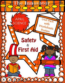 Safety & First Aid  Unit Pack with Worksheets..April Science is a…