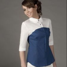 Двуцветна дамска риза ROXANE