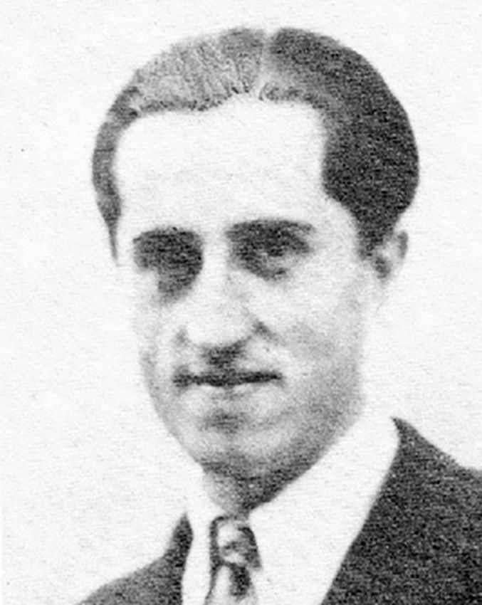 Marseille sous l'occupation. Albert Chabanon, Valmy, Jean Vengeur, responsable de l'organisation universitaire (OU) des MUR. Il fait parti des 28 résistants fusillés à Signés le 18 juillet 1944 par les agents du SIPO-SD d'Ernst Dunker.