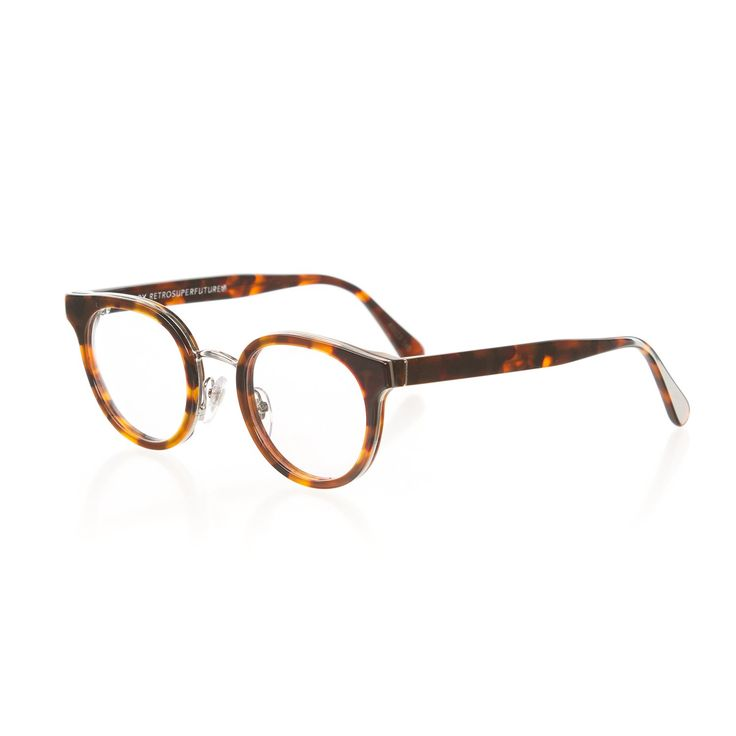 Retrosuperfuture Numero 22 Duo Havana Optical Glasses Regular 48mm Super-LFS