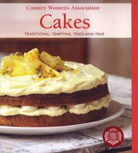 Country Women's Association: Cakes. This is a great cookbook. Best basic cupcake recipie we've found so far. Orange Cake in the oven as we speak!