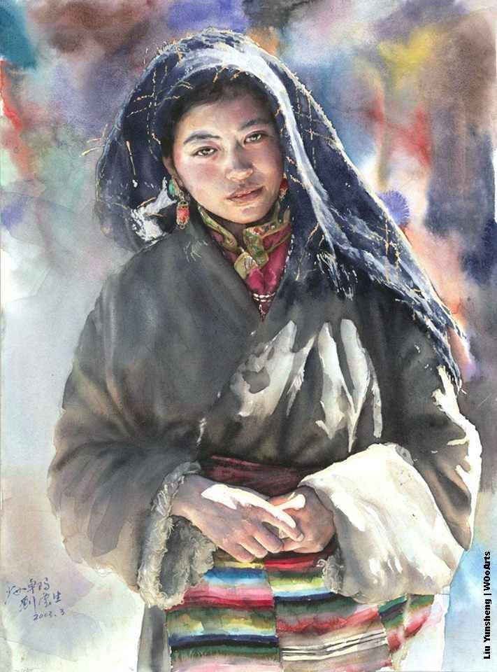 25 Stunning Watercolor Paintings By Chinese Artist Liu Yunsheng