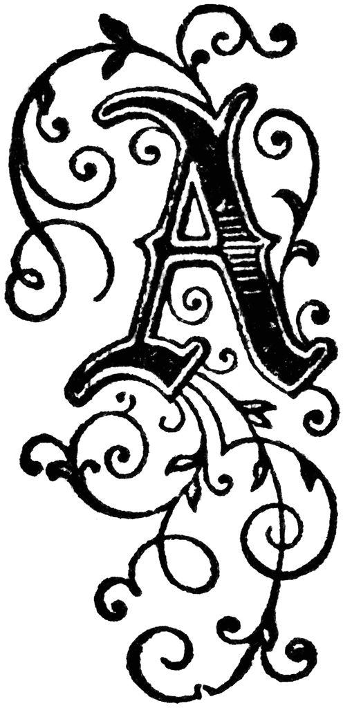 Best Random Art Images On   Initials Alphabet