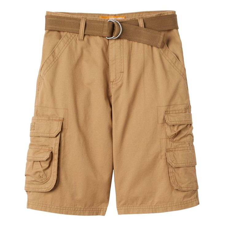 Boys 8-20 Lee Twill Cargo Shorts, Size: 18, Brown Oth