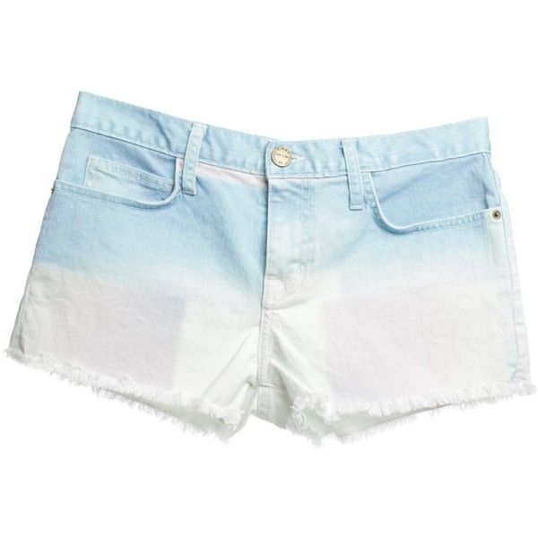 Pre-owned Shorts in pastel tones ($69) ❤ liked on Polyvore featuring shorts, black, pastel shorts, short shorts and current elliott shorts