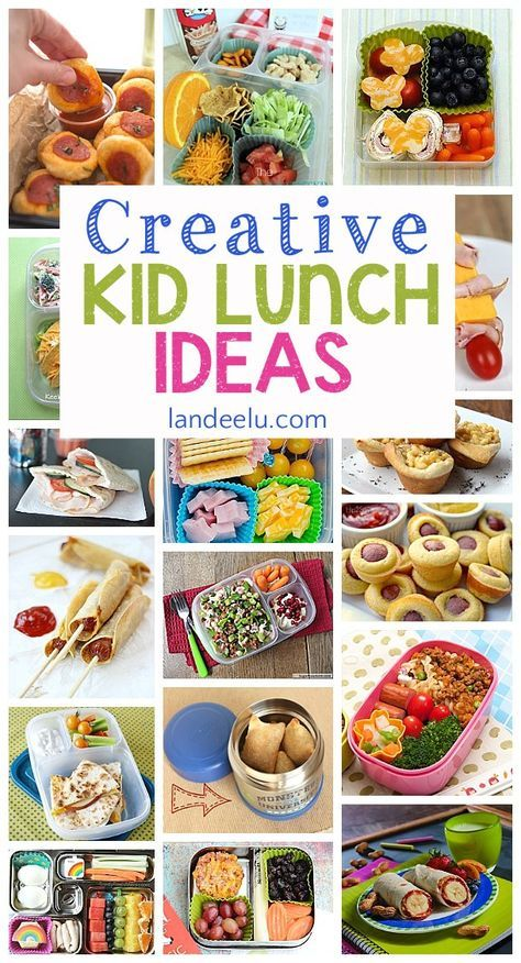 These lunch ideas are darling! I can't wait to try some of these for my kids!