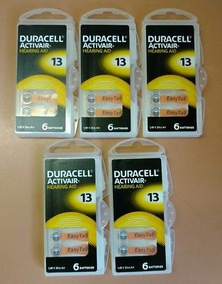 30-Duracell-Activair-Hearing-Aid-Batteries-Size-13