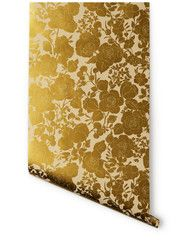 Garden (Cream/Gold)  Removable wallpaper
