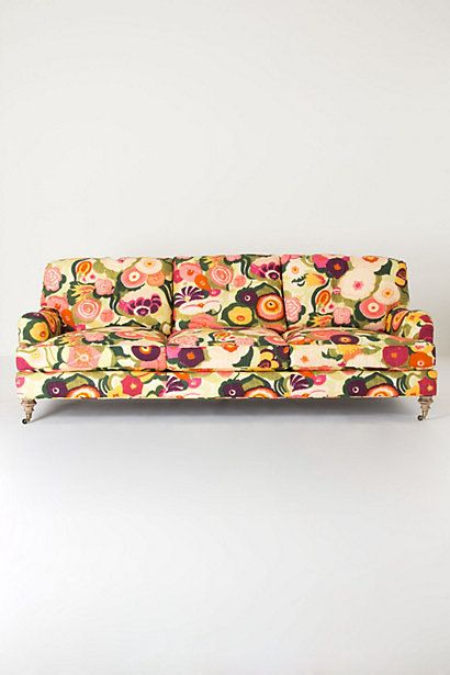 Winifred Sofa, Zesty #anthropologie - In a total white or cream room, this couch would be amazeballs.