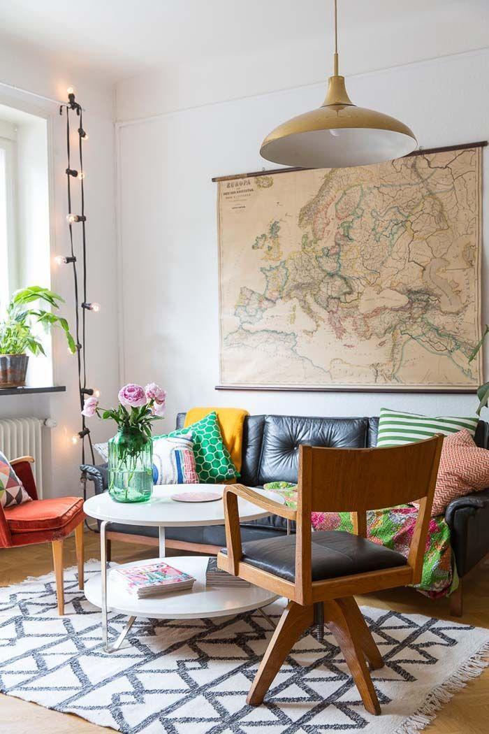 A Colourful Apartment in Malmö | Poppytalk