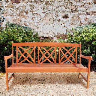 Eco-Firendly 5-foot Wood Garden Bench