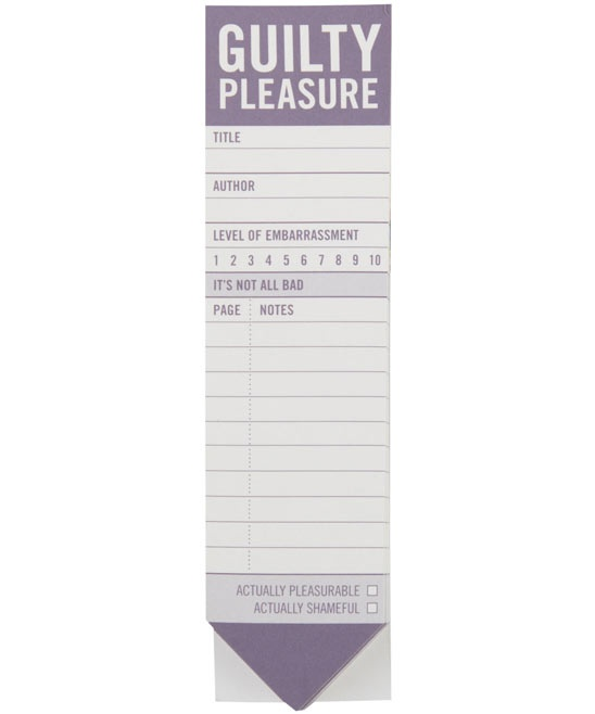 Guilty Pleasure Bookmark Pad: Pleasures Bookmarks, Guilty Pleasures, Bookmarks Pads