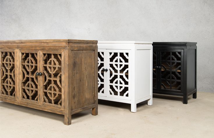Feeling trendy with our Morrocan Inspired Salvaged Wood Sideboards. www.shf.co.za #loveit #inspired #repin