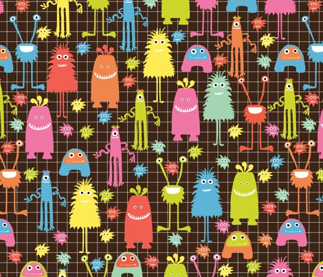 monster fabric $18.00: Monsters Character, Monsters Wallpapers, Custom Fabrics, Blankets, Bags Covers, Beans Bags Chairs, Fabrics 18 00, Monsters Fabrics, Monsters Mashed