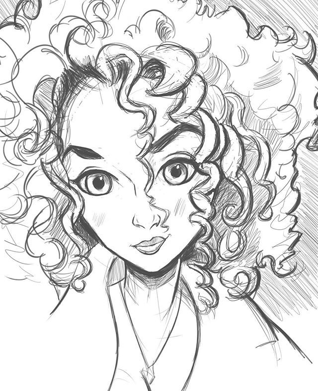 Morning warm-up sketch another pretty girl #caraciture # ...