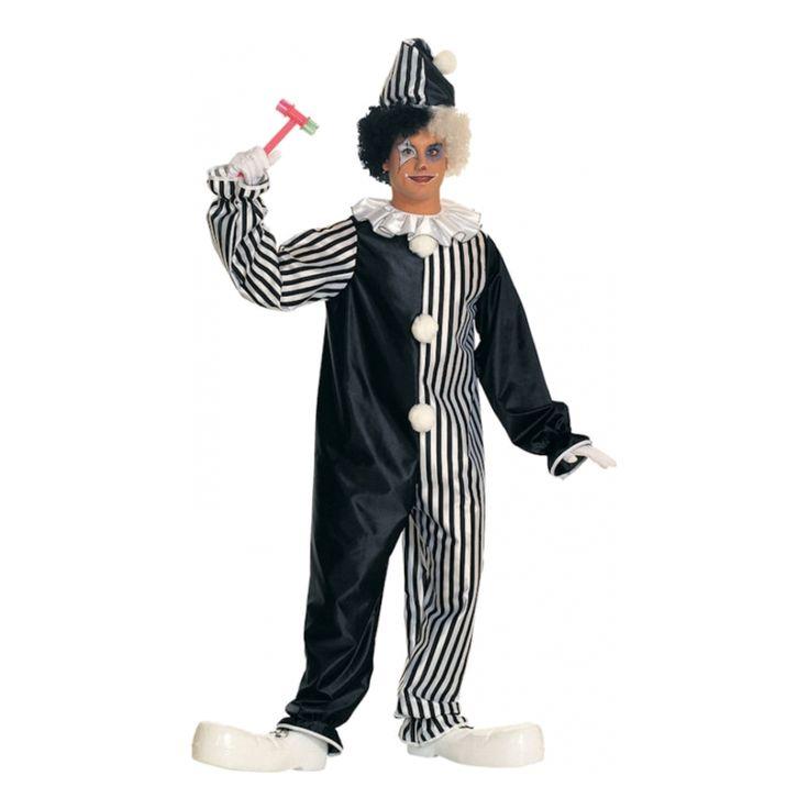 Köp Harlequin Clown Maskeraddräkt. 399 kr