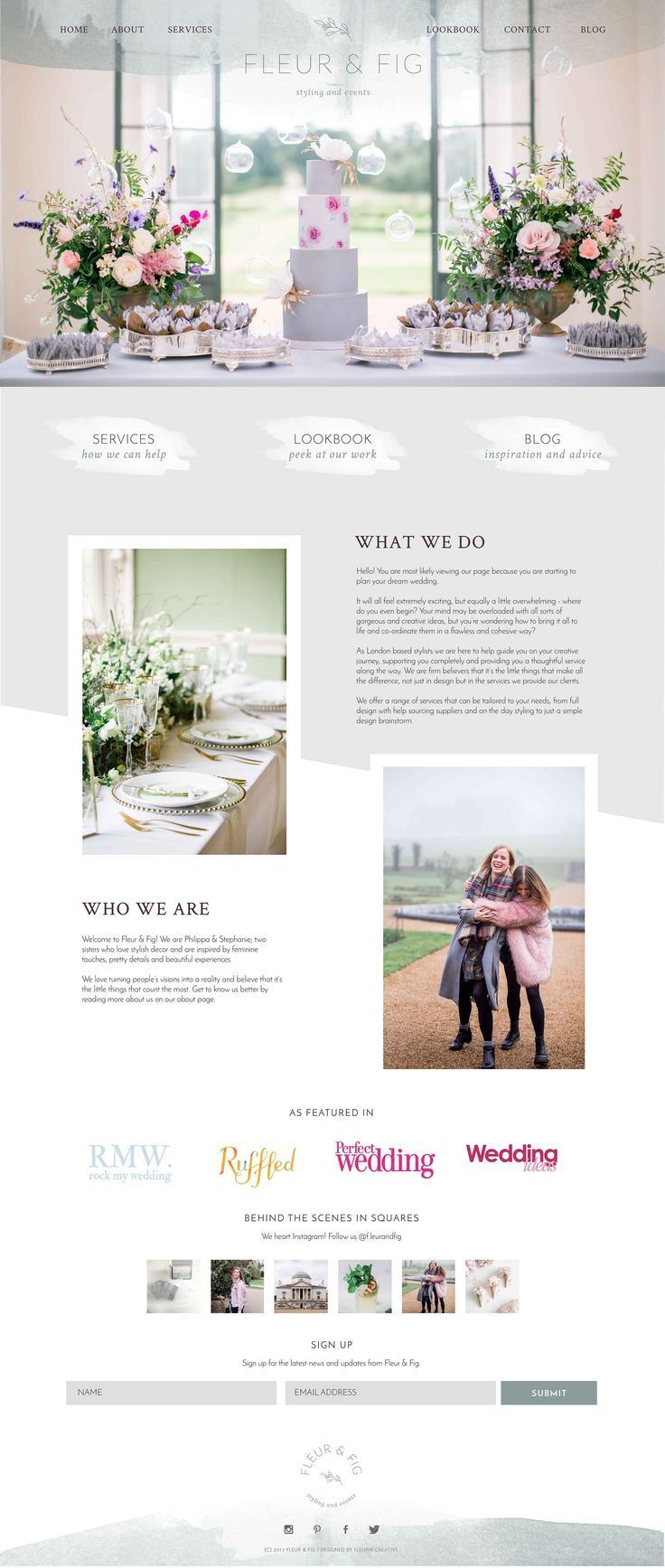 Brand Launch Fleur Fig Wedding Event Styling