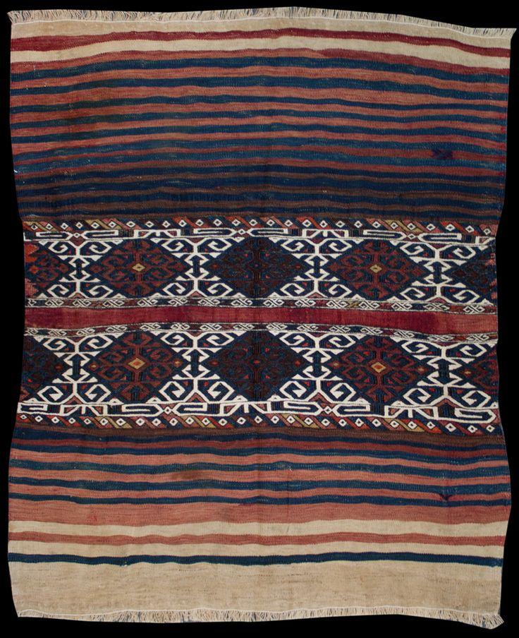 Anatolian Malatya Jijim Kilim  131 x 116 cm