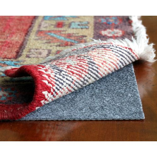 Found it at Wayfair - Rug Pro Ultra-Low Profile Felt and Rubber Rug Pad