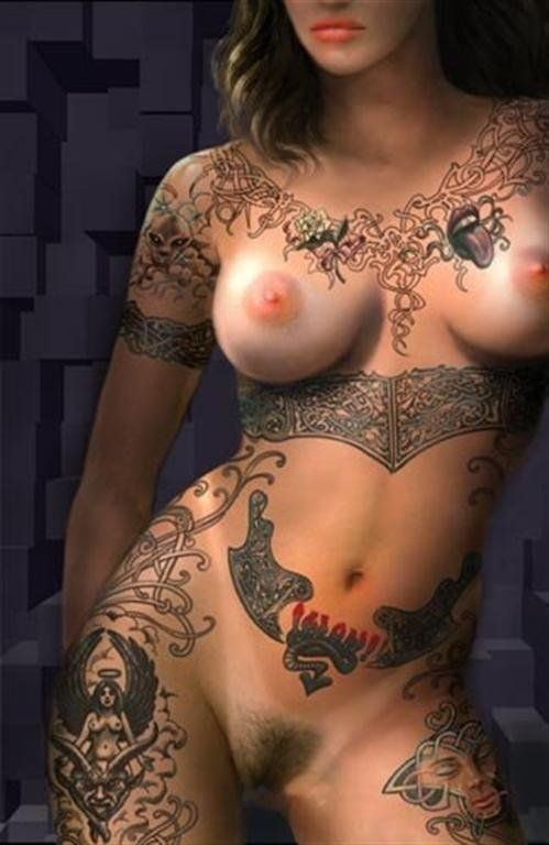 Women with tattoos nude photos