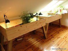 Indoor Tortoise tables | Flickr - Photo Sharing! @ http://www.flickr.com/photos/madeforanangel/6005152542/in/photostream/
