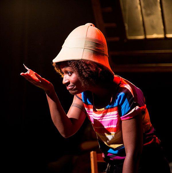 Coraline - Chicago cast. Sheridan Singleton as Coraline.