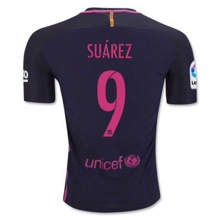 Barcelona 16-17 Luis #Suarez 9 Bortatröja Kortärmad,259,28KR,shirtshopservice@gmail.com