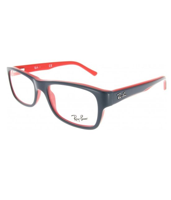 ray ban brille rot weiß