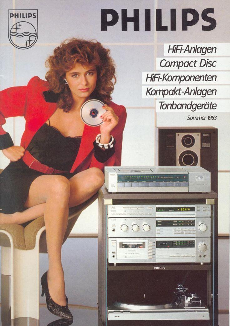 Philips Deutschland Anzeige 1983