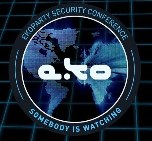 """Seguridad Informática """"A lo Jabalí ...""""   Blog de Seguridad Informatica y Hacking: EkoParty Security Conference Call4Slogan 2014"""