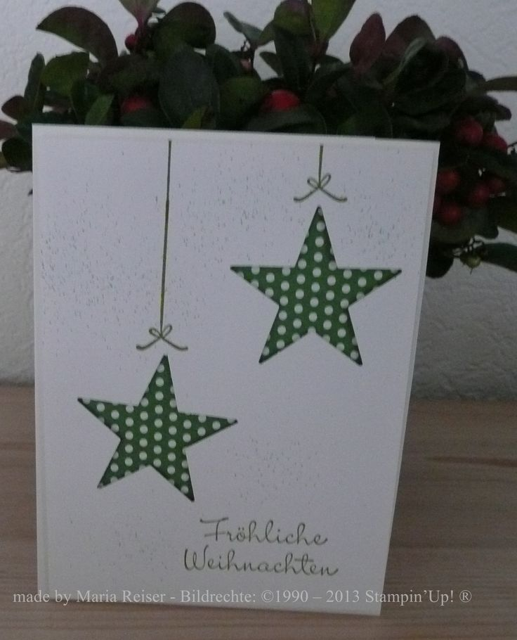 made by Maria Reiser - Bildrechte: ©1990 – 2013 Stampin'Up! ®                                                                                                                                                                                 Mehr