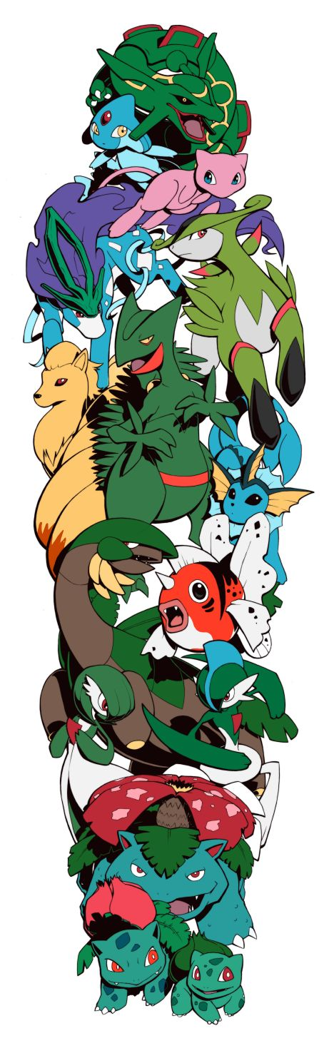 Pokemon Sleeve 10 by H0lyhandgrenade.deviantart.com on @DeviantArt