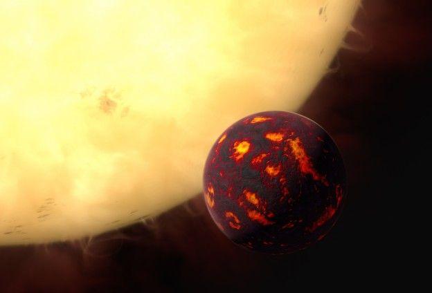 Analizzata per la prima volta l'atmosfera di una #superterra Per la prima volta gli astronomi sono riusciti ad analizzare, grazie al telescopio spaziale #hubble, l'atmosfera di un #pianetaextrasolare di tipo roccioso.Un team di scienziati dello University College London (tre dei quali italiani) ha scoperto che l'atmosfera del pianeta 'e' in orbita attorno alla stella 55 Cancri, a differenza dell'atmosfera terrestre, non si è evoluta significativamente dalla sua formazione.