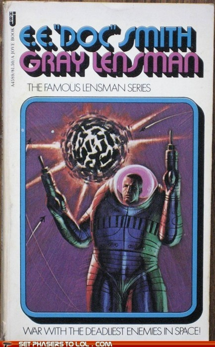 sci fi fantasy - WTF Sci-Fi Book Covers: Gray Lensman