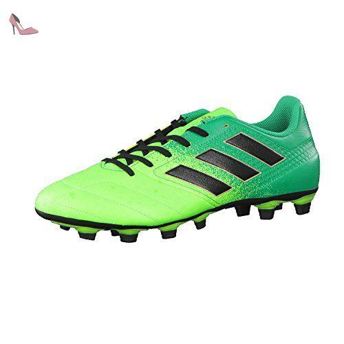 Adidas Ace 17.4 Fxg, pour les Chaussures de Formation de Football Homme,  Vert (