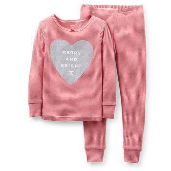 Christmas 2-Piece Snug Fit Cotton PJs | Carter's