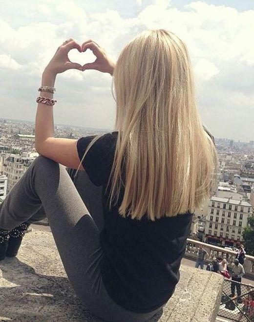 17 Trendy Hairstyles for Long Hair: #6. Pretty Straight Haircut for Long Hair