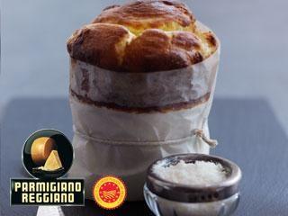 Parmigiano Reggiano Cheese Souffle