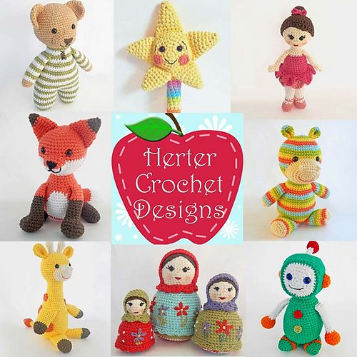Ida Herter (Herter Crochet Designs) is a designer in Ami-Along 2016 on Ravelry: http://www.ravelry.com/discuss/ami-along/ Make amigurumi from eligible patterns from our participating designers. The event starts on June 27. Use the coupon code AMIALONG2016 on eligible patterns: http://www.ravelry.com/bundles/patterns-eligible-for-2016 to get 25% off. The code is valid from June 27th-July 3rd. #amigurumi #amialong #amialong2016 #crochet #knitting #cal #kal #cute #ravelry