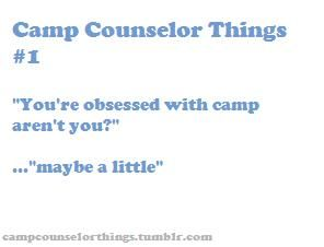 Camp Counselor Things