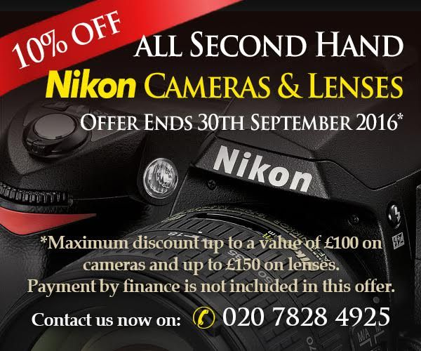 Grays of Westminster Second Hand Department 10% off used bodies and lenses!* ow.ly/82cB304vS29 #Nikon #Nikkor #offer