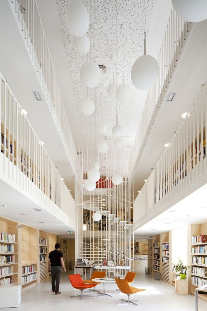 BIG Library, Gourdon, FranceWinners of the 2014 LEAF Awards Announced Architect #architecture