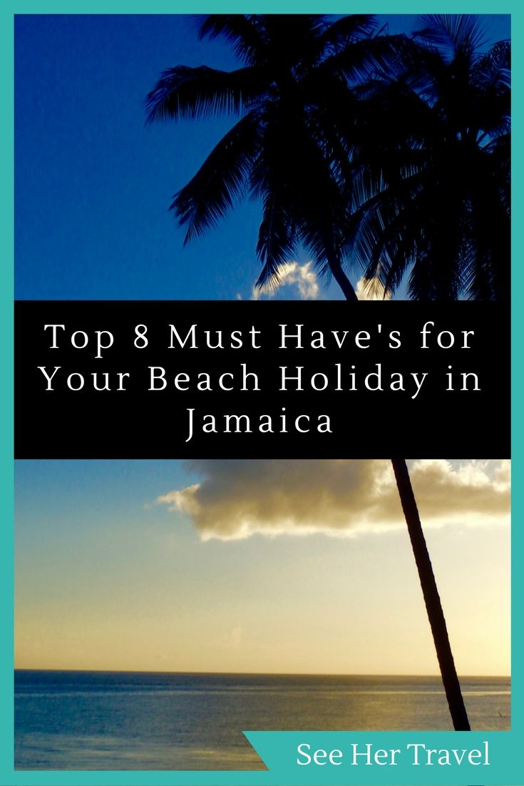 A packing list of 8 must have items for a beach holiday in Jamaica, because any day on the beach is better with some very simple gadgets. Don't forget your waterproof phone cases, beach towels and clips, and the new full face snorkel mask!