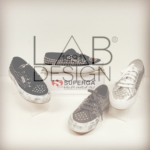 Superga customized handmade in italy by labdesign.