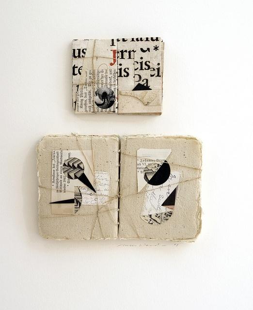 """Book Bundle a"" by Margaret Suchland: Book Bundle, Margaret Suchland, Book Art, Artists Books, Artist Books, Artist'S Book, Collage, Art Book"