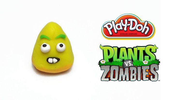 Play-Doh Plants vs Zombies Garden Warfare Popcorn from Plants Vs. Zombie...