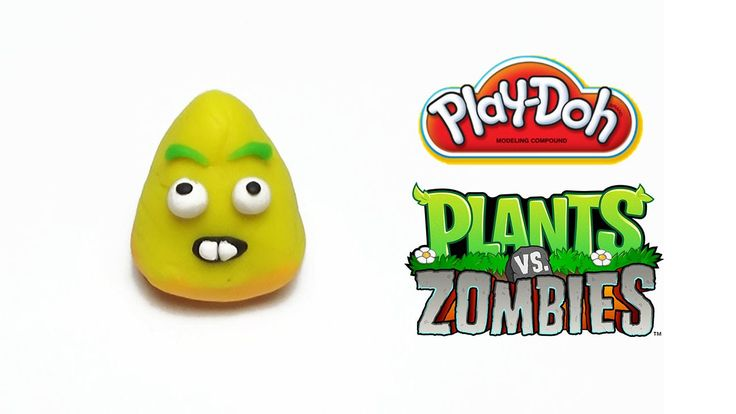 Play-Doh Plants vs Zombies Garden Warfare Popcorn from Plants Vs. Zombie...