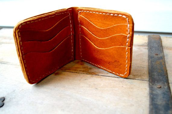 The Christopher Handmade Leather Bifold Wallet