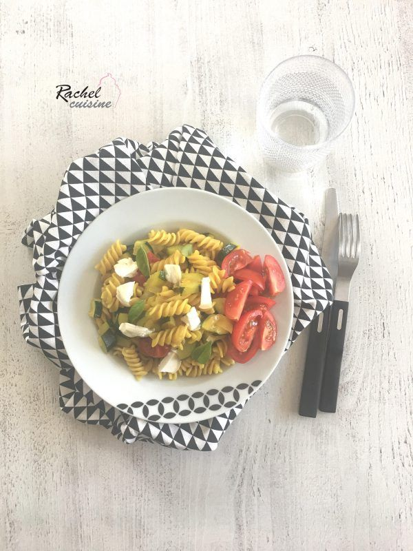 One Pot Pasta Courgette Et Tomate Rachel Cuisine Rachel Cuisine Pates A Faire Mijoter Cuisine