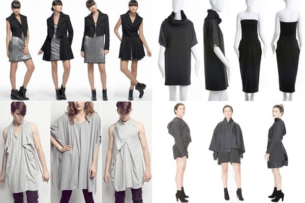 convertible clothing & Sustainable fashion - convertible-clothing that does double duty